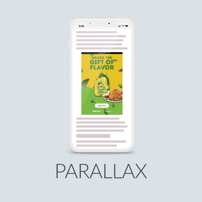 New Mobile Parallax