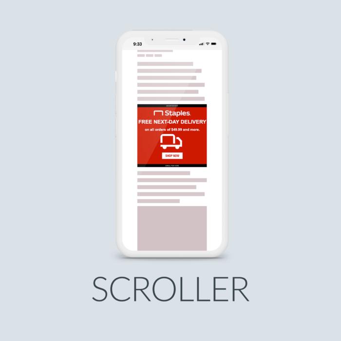 New Mobile Scroller