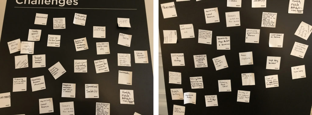 "The ""Challenge Board"" from the conference shows today's publishers face no shortage of issues and while the spectrum of their concerns varies, a couple of themes emerged from the conference."