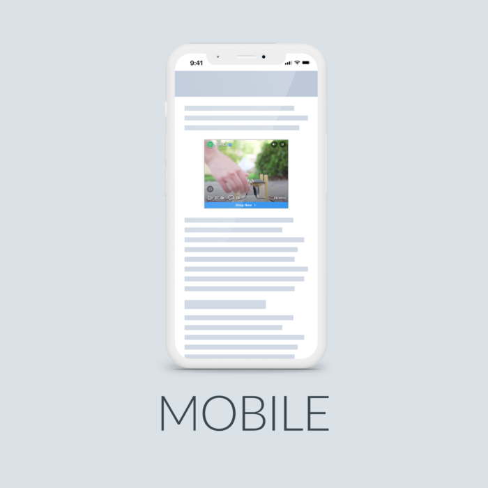 New Social Display Mobile