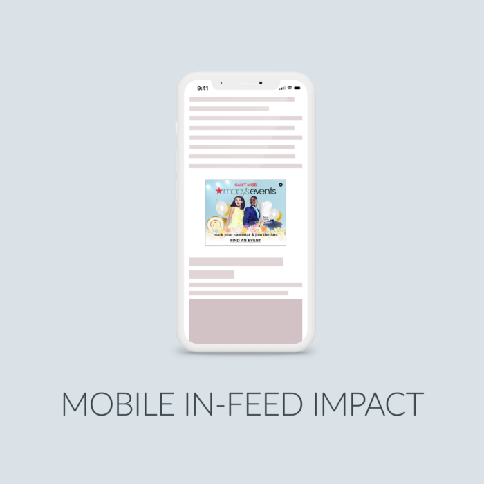 Cover Mobile In-Feed Impact