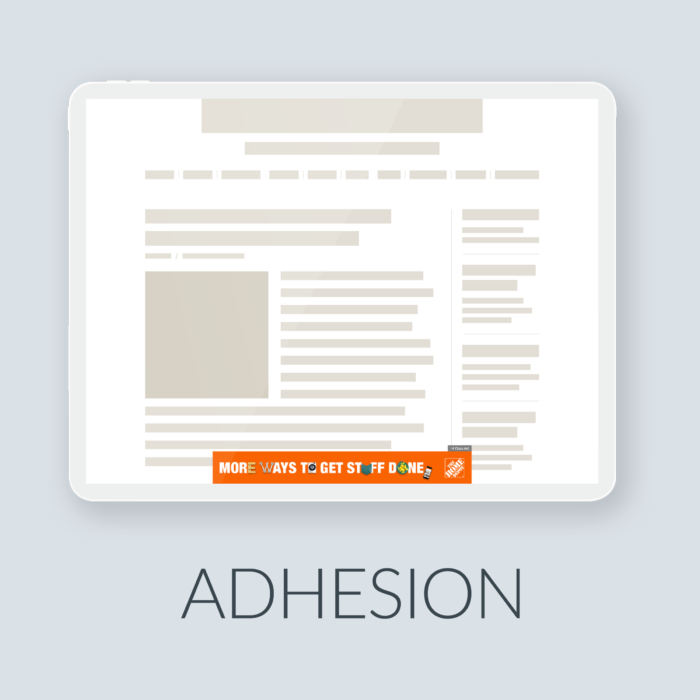 New Tablet Adhesion